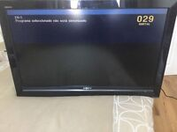 Sony 40 inch TV with freeview