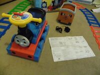 Battery Operated Thomas Train Ride On & Track Set with Charger & Box - Immaculate Condition
