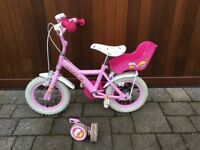 Child's Bike Bicycle Girl Cupcake Bike - Free to a good home