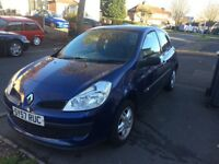 Renault Clio 57 plate 69500 low mileage
