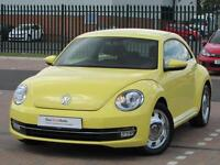 Volkswagen Beetle DESIGN TSI DSG (yellow) 2002-12-28