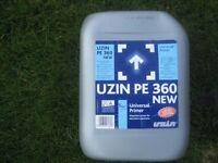 Uzin PE 360 universal primer, dispersion primer for absorbent substrates. Unopened.