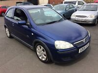 BARGAIN 2005 VAUXHALL CORSA SXI RELIABLE CAR P WELCOME