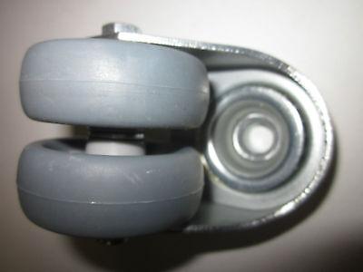 Grevinga® VITAL Doppel - Lenkrolle - Ø 75 mm 4024