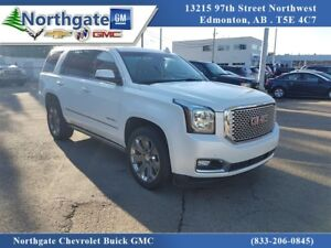 2016 GMC Yukon Denali, 6.2, Leather, Bluetooth, USB, DVD