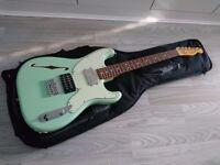 2011 Fender Pawn Shop '72 Stratocaster / Telecaster, Surf Green (MIJ, made in Japan)