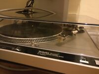 For repair: Custom audiophile-modded Technics SL-1600 Mk2 turntable (+ Nagaoka MP-110 cartridge)