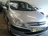 Peugeot 307 (new mot ) AUTOMATIC