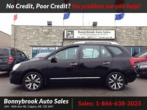 2011 Kia Rondo EX w/3rd Row 7 passenger with heated leather seat
