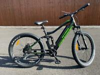 Electric Mountain Bike All Terrain Pedal Assist Throttle Full Suspension 36V 350W Long Range New
