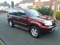 NISSAN X-TRAIL 2.0 4X4 SPORT LIMITED 2002