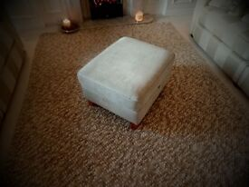 Footstool storage