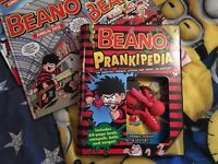 Beano and Dandy Annuals with Prankipedia