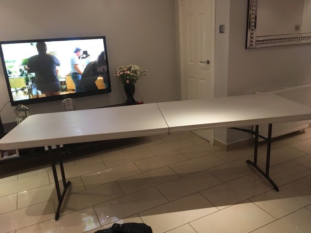 Lifetime 8ft folding table