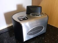 Ice Cream Maker Pro. - Andrew James fully automatic 1.5 litre machine. - As new, hardly used