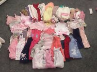3-6 months baby clothes In good condition baby hats 0-3