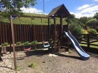 Children's swing slide play centre