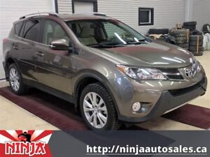 2013 Toyota RAV4 Limited-Sunroof-Leather-BU Cam-Power Liftgate