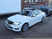 2012 MERCEDES-BENZ C250 CDI AMG SPORT PANO ROOF AUTO SALVAGE DAMAGED REPAIRABLE NT E250 E350 C250