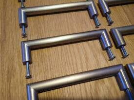 14 x stainless steel handles for kitchen cabinets or drawers