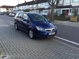 Vauxhall zafira 1.9 CDTI, one owner, full service history main dealer, 12 months mot, low millage