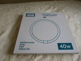 Crompton circular tube triphosphor 40w
