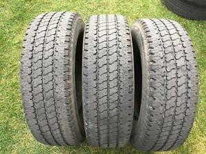 3 Bridgestone Duravis M773I - LT245/75/16 - 60%+ $75 For All 3