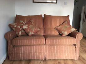Multi York traditional sofa and armchair