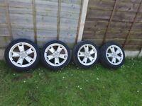 Audi a3 alloy wheels 17 inch
