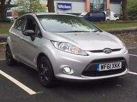 2011 FORDA FIESTA 1.4 ZETEC * 5 DR * LOW MILES * BLACK ALLOYS * S/HISTORY * PART EX * DELIVERY *