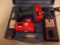 Makita 18 v cordless Site Master Hammer drill all in box