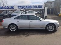 TAYCARS DUNDEE SALE!! AUDI A8 QUATTRO SPORT TDI AUTO MUST BE SEEN ONLY....£4995