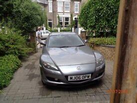 Mazda RX8 long MOT Genuine 73,000 miles