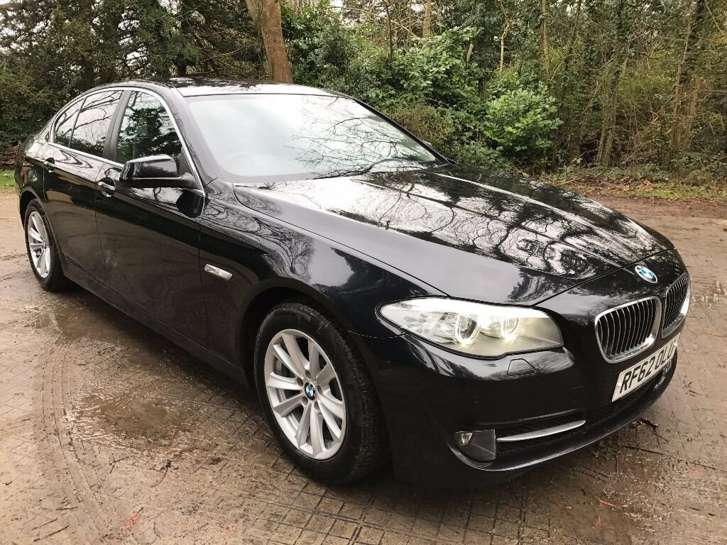 bmw 520d se auto saloon 2012 62 black black in enfield london gumtree. Black Bedroom Furniture Sets. Home Design Ideas