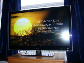 LG 42LE8900 42 inch flat screen tv television. Good working order.