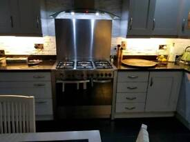 BELLING GAS ELECTRIC COOKER