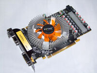 GeForce GTS 250 512MB GDDR3 PCI-Express Graphics Card