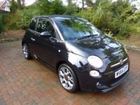 Fiat 500C 1.2 S 2dr (start/stop) 2014 64 plate Low mileage, Excellent Condition, Cheap car tax £30