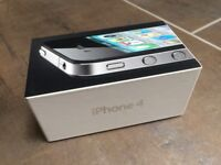 iPhone 4 16GB - black. Boxed.