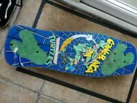 Teenage mutant hero turtles mirage 90s vintage skateboard preowned