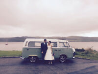 Chauffuer Driven VW Campervan Hire | Weddings | Days Out | We cover the whole of Scotland