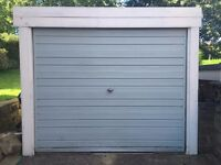 Sectional Concrete Garage with up and over door - URGENT SALE