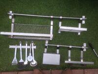 Stainless steel kitchen accessories