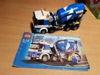Lego cement lorry