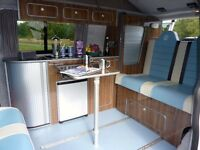 VW Campervan. New Conversion, Pop Top, Air Con, Heater, Warranty, AA Cover + Floor Slide Rails