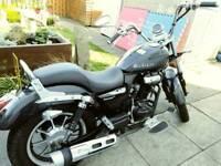 Lexmoto Michigan 125 motorbike