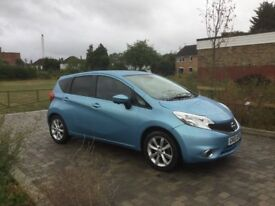 Nissan note 2014 Automatic low mileage like new