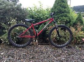 On-one Innred custom jump/ pump bike