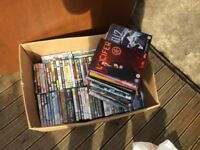 Over 130 dvds including box sets
