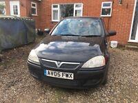 2005 Vauxhall Corsa black £995 ONO